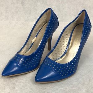 Blue Christian Siriano for Payless Heels